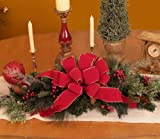 Christmas Table Centerpiece CR1025 Pine-Holiday-Decorations