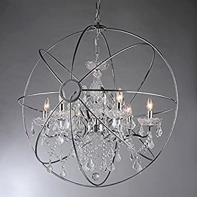 Whse of Tiffany RL6806B-16CH Saturn's Ring 16-Inch Chandelier