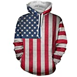 Men Sweatshirt ,Leegor Striped Star Hooded Print Sport Tops Jacket Coat Outwear
