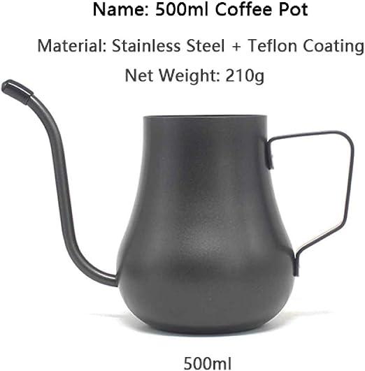 COKFEB Filtro de café Cafetera de Mano de Acero Inoxidable 300 ...