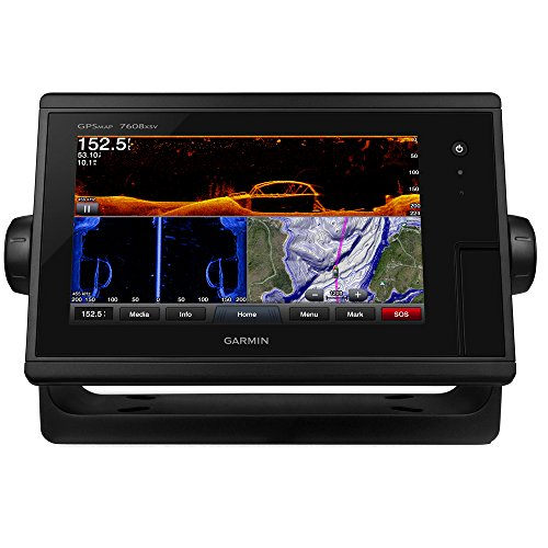 Garmin GPSMAP7608XSV Combo Bluechart G2 And Lakevu HD US by Garmin