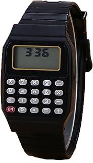 Relógio Digital Calculadora Calendário Hora Cor Preto Nostalgia Retrô Infância Geek Frete Grátis todo Brasil Oferta Promoção