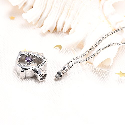 Jewelry Necklaces Dolphin Heart Cremation Urn Necklace for Ashes Keepsake Pendant Memorial Jewelry Stainless Steel Ashes Keepsake Holder Cremation Jewelry