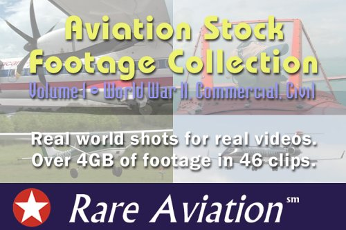 Aviation Stock Footage Collection - Volume 1 - World War II, Commercial, Civil