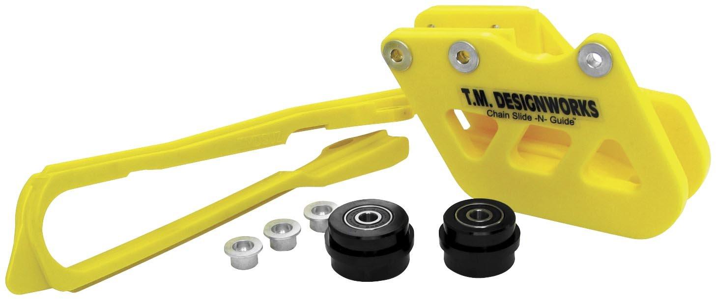 97-07 YAMAHA YZ250: TM Designworks Factory Edition 2 Rear Chain Guide (YELLOW)