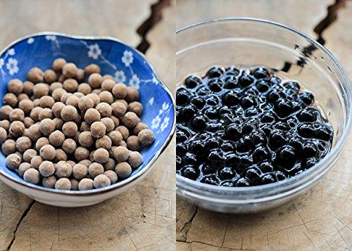 NassimTea - Black Boba Tapioca Pearls - 5LB (5LB) by Nassim Tea