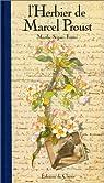 L'Herbier de Marcel Proust par Proust