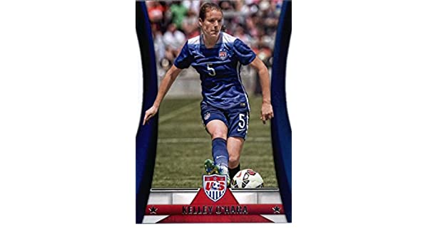 2015 Panini US National Womens Team Soccer #14 Kelley OHara United States Official USA Soccer Card