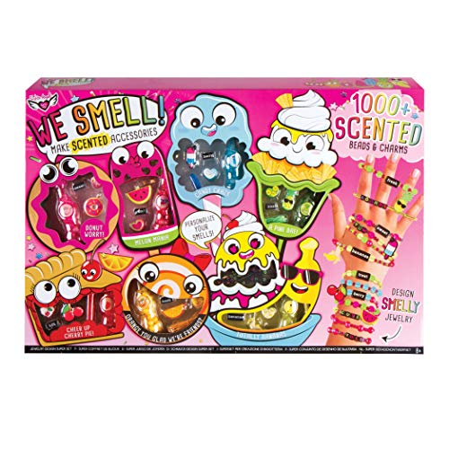 (Fashion Angels 12171 We We Smell! Make Scented Jewelry Super Set, Multi)
