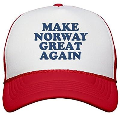 Make Norway Great Again Hat: Snapback Mesh Trucker Hat