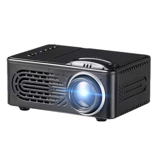 QUARKJK Mini proyector de batería LCD LED proyector portátil Cine ...
