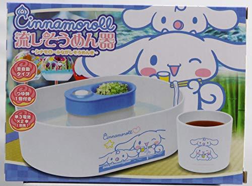 [해외]サンリオキャラクタ?ズ 채 냉면 기 전 자동 타입 (국물 냄비 1 개 첨부) 시 나 모 롤 / Sanrio Characters Sink Noodle Bowl Fully Automatic Type (with 1 Tsuyubowl) Sinamo roll