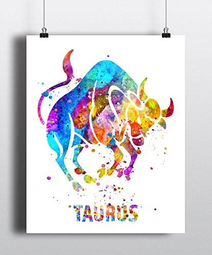 taurus-astrology-art-print-taurus-sign-taurus-zodiac-print-wall-art-poster-gifts-for-taurus-archival