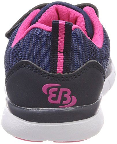 Bruetting Mädchen Shadow Vs Sneaker Blau (Marine/Blau/Pink)