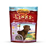 Zuke's Lil' Links Healthy Grain Free Little Sausage Links for Dogs, Rabbit and Apple Recipe, 6-Ounce, My Pet Supplies