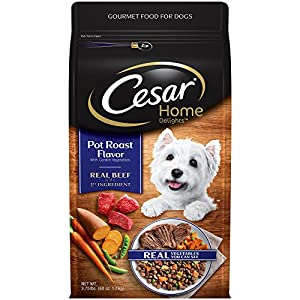 Cesar Home Delights Dry Dog Food Pot Roast Flavor With Garden Vegetables, 3.75 Lb. Bag 82