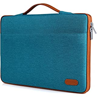 "ProCase 14-15.6 Inch Laptop Sleeve Case Protective Bag, Ultrabook Notebook Carrying Case Handbag for MacBook Pro 16"" / 14"" 15"" 15.6"" Dell Lenovo HP Asus Acer Samsung Sony Chromebook Computer –Teal"