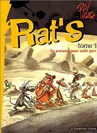 Rat's, tome 1 : En partance pour nulle part par  Ptiluc