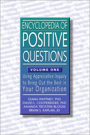Encyclopedia Positive Questions Appreciative Organization product image