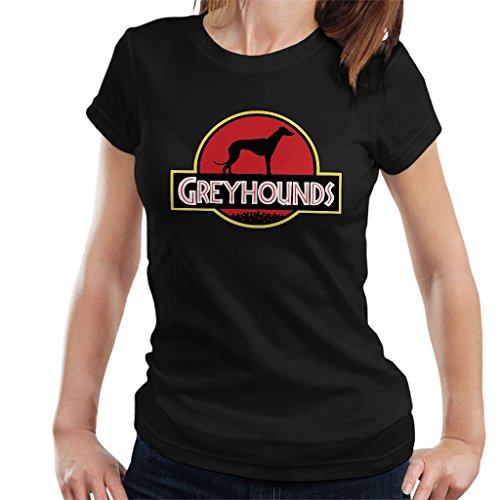 Coto7 Greyhounds Jurassic Park Logo Mix Women's T-Shirt