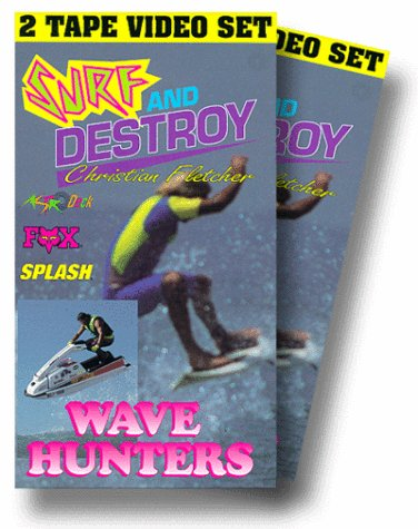 Amazon.com: Surf & Destroy/Wave Hunters [VHS]: Surf & Destroy, Wave Hunters: Movies & TV