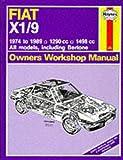 Fiat X1/9 1974-89 Owner's Workshop Manual (Service & Repair Manuals)