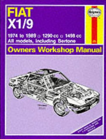 Fiat X1 9 1974 89 Owner's Workshop Manual  Service And Repair Manuals