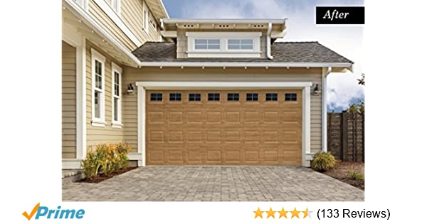 Best of Amazon Giani 2 Car Garage No Fade Weather Resistant Ultra Strong Decorative Magnetic Door Window Panes Black Home Improvement Fresh - Contemporary garage door reviews In 2018