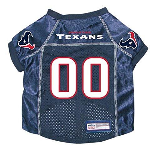NFL Houston Texans Hunter Pet Jersey, X-Large, Navy