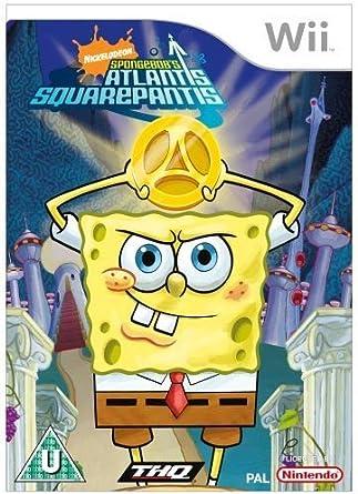 Spongebob: Atlantis Squarepantis (Wii) [Importación Inglesa ...
