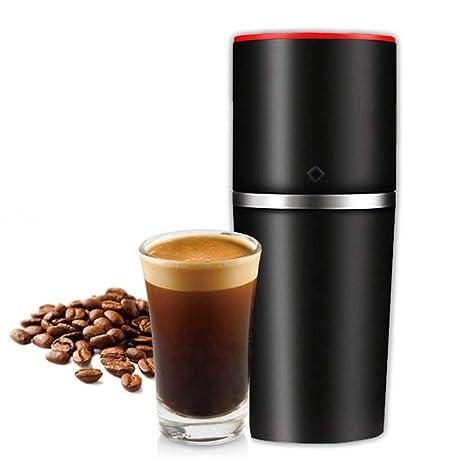 MSQL Cafetera portátil, 3 en 1 cafetera Manual Manual, Mini cafetera de Viaje, extraíble, fácil de Limpiar, 400 ml,Negro: Amazon.es: Hogar