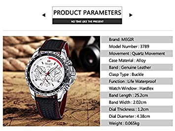 Amazon.com : Watch Men Watches Relogios Masculinos Fashion Mens Quartz Watch Top Brand Luxury Clock Men Wristwatch Relojes Hombre 2016 White color ...