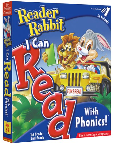 Reader Rabbit I Can Read With Phonics 1st and 2nd Grade by The Learning Company