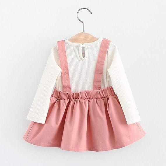 Amazon.com: Fartido Vestido de princesa para bebé, con ...