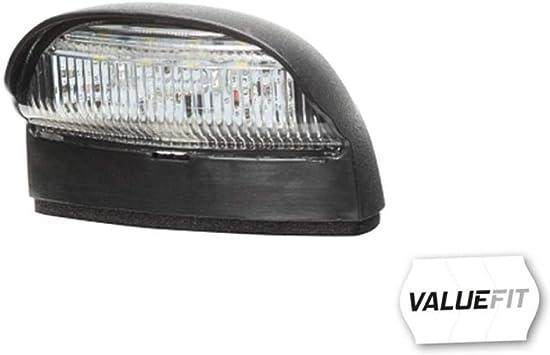 phil trade 2X universal Warmwei/ß Kennzeichenbeleuchtung Leuchte Anh/änger PKW StVO Zulassung 12V 24V