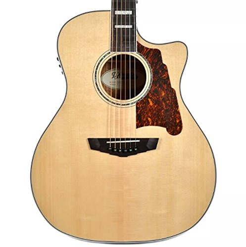 D'Angelico Premier Gramercy Acoustic-Electric Guitar – Natural