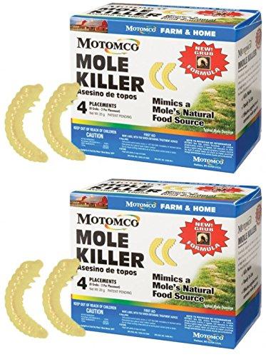 Motomco Mole Killer Grub Formula (8 Plac (8 Placements) (8)