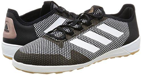 Adidas Herren Ace Tango 17.2 in für Fußballtrainingsschuhe, Schwarz (Negbas/Ftwbla/Cobmet), 42 EU