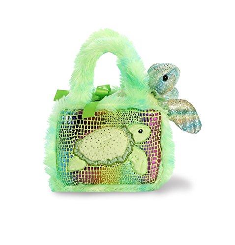Aurora World Pet Carrier Plush Toy Animal, Fancy Pals Sea Turtle