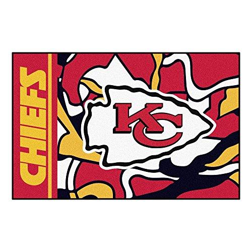 FANMATS NFL Kansas City Chiefs NFL - Kansas City Chiefsstarter Mat, Team Color, One Sized
