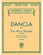 6 Airs Varies, Op. 89: Violin and Piano