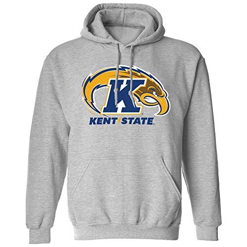 Campus Merchandise Men's NCAA Long Sleeve Hoodie, Athletic Heather, Large