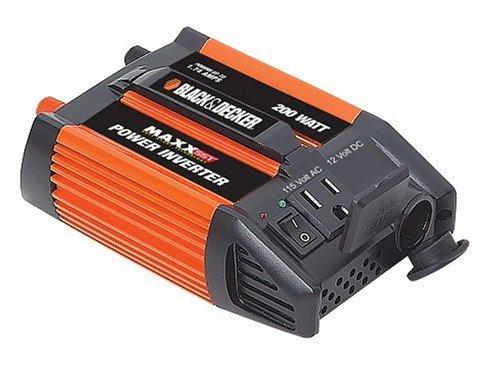 Black Decker 200 Watt Inverter VEC1045BD
