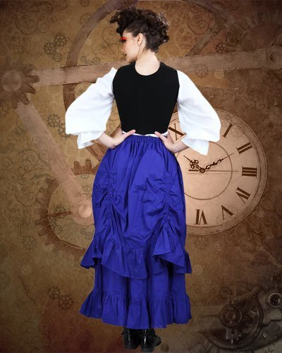 Steampunk Victorian the Downshire Skirt (x-large) by ThePirateDressing (Image #1)