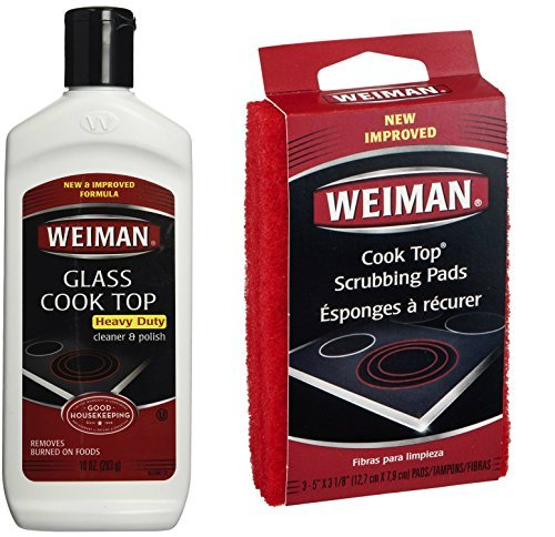 weiman-cook-top-scrubbing-pads-with-glass-cook-top-cleaner-polish-bundle