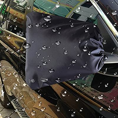 Vaygway Car Side Mirror Covers- 2 Snow/ Ice Mirror Protection- Rain Guard Universal Auto Covers-Anti Bird Poop and Theft