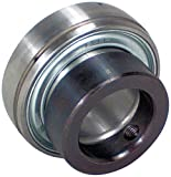 Peer Bearing FH205-16 Insert Bearing, FH200-G Series, Narrow inner Ring, Spherical Outer Ring, Non-Relubricable, Eccentric Locking Collar, Single Lip Seal, 1'' Bore, 15 mm Inner Ring, 21.5 mm Outer Ring, 1'' (25.4 mm) ID, 2.047'' (51.999 mm) OD, 2.047'' (51.9
