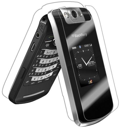 (IQ Shield LiQuidSkin Full Body Skin + Full Coverage Screen Protector for BlackBerry Pearl Flip 8220 HD Clear Anti-Bubble Film)