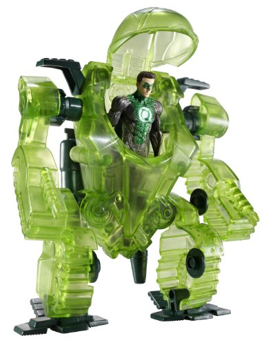 Ryan Lantern Green Suit Reynolds (Green Lantern Hal Jordan Figure with Transforming Battle)