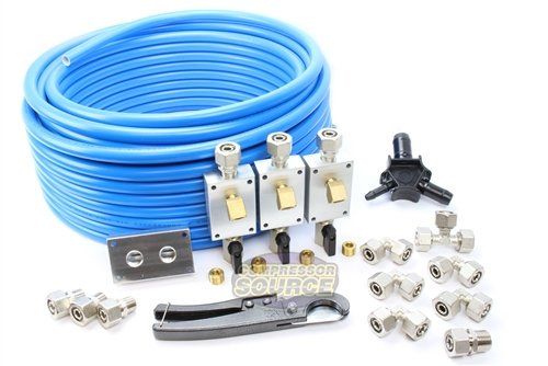M3800 RapidAir MaxLine 1/2'' Compressed Air Tubing Commercial / Shop Piping Kit by Rapid air (Image #1)